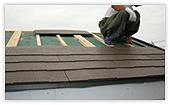 屋根の施工方法1